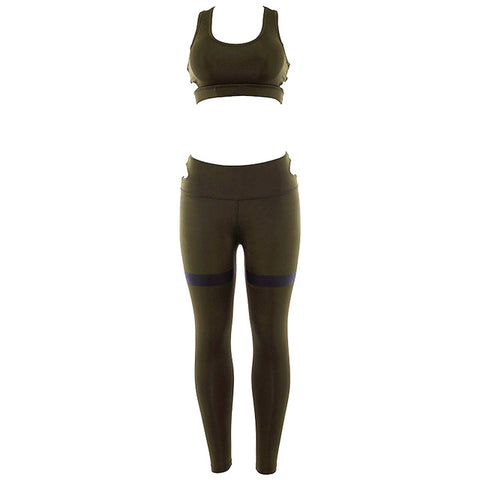 Breathable Two Piece Stretch Suit