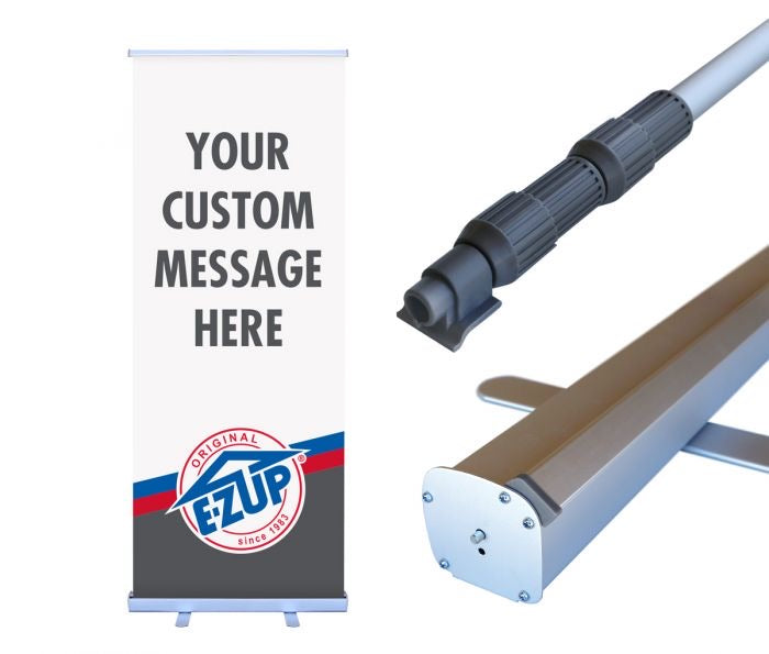 "Standard Roll-Up Banner - 33"" x 78"" - Publicité Vision-Air"