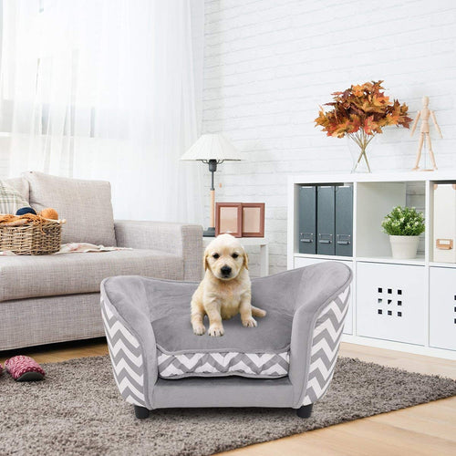 Snuggle Soft Warm Dog Sleeping Bed with Cushion