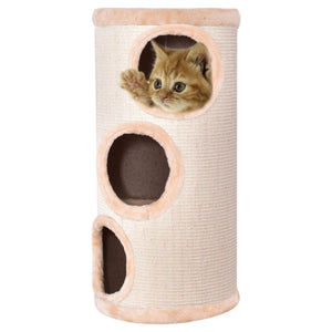 "14"" x 27.5"" Cat Tower with 3 Holes"