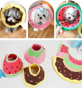 Pet Collar Dog/Cat Cone Protective Neck Medical Anti Bite  Sizes XS/S/M/L