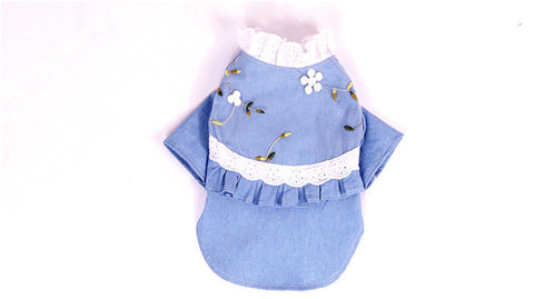 Small Dogs/Cat Clothes Summer Dresses