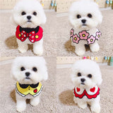 Dogs and Cat Bow tie Bandana Pet Scarf