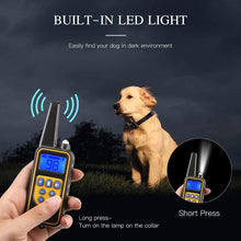 Load image into Gallery viewer, Electric Pet Dog Training Collar Shock Remote Control Waterproof Chargeable LCD Display 1-2 pets