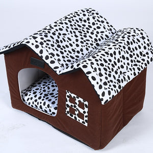 Dog/Cat Bed House  sleeping house basket kennel for small/medium pet