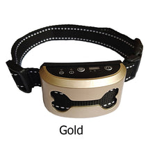 Load image into Gallery viewer, Pet Dog Anti Bark Collar Waterproof Intelligent Ultrasonic Stop Barking Dog Training Collars