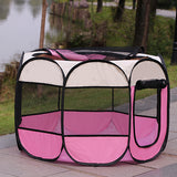 Portable Outdoor/Indoor Kennels Fences Pet Tent Houses For Small - Large Dogs Playpen - Indoor Puppy playpen