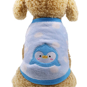 Fleece Clothes for Small Dogs or Cats Outfit Winter Warm Pets Clothing Coat