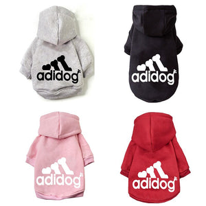 Fashion Dog Hoodie Winter Pet Dog Clothes For Dogs Cotton  Pets Clothing
