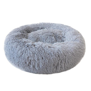 Dog/Cat Bed Comfortable Cuddlier Round Ultra Soft Washable Sizes S-XXXL