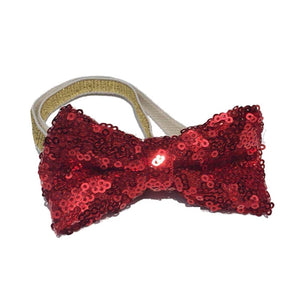 Christmas Pet Dog Cat Bow Tie and Cap Cute Red BowtieTie Collar Adjustable Pom-poms Party Dog Cap