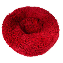 Load image into Gallery viewer, Comfy Calming Dog/Cat Bed Round Super Soft Plush Nest Beds S/M/L