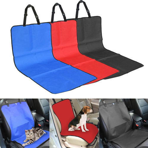 Water-proof Pet Carriers Car Seat Cover Puppy Seat Mat Travel Accessories Auto Seat Covers Mat