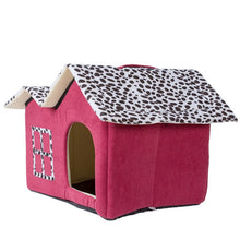 Load image into Gallery viewer, Dog/Cat Bed House  sleeping house basket kennel for small/medium pet
