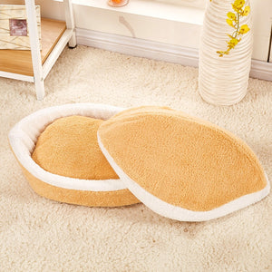 Dog/Puppy/Cat Sleep/Hide Bag Kennel Nest  One size - 17 3/4 width X 12.5 Depth X 12.5 Height inches