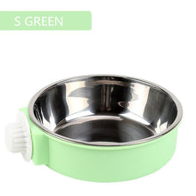 Load image into Gallery viewer, Double Dog/Cat Bowl Feeding Station Stainless Steel Water & Food Bowls
