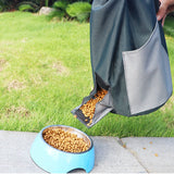 Collapse Dog/Cat Dry Food Storage Containers Waterproof Travel