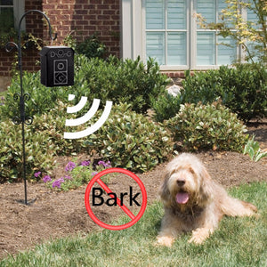 Outdoor Dog Controller Ultrasonic Dog Waterproof Anti-Bark Device