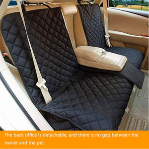 Dog Car Back Seat Cover Mat  Waterproof
