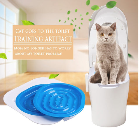 Plastic Cat Toilet Trainer Kit