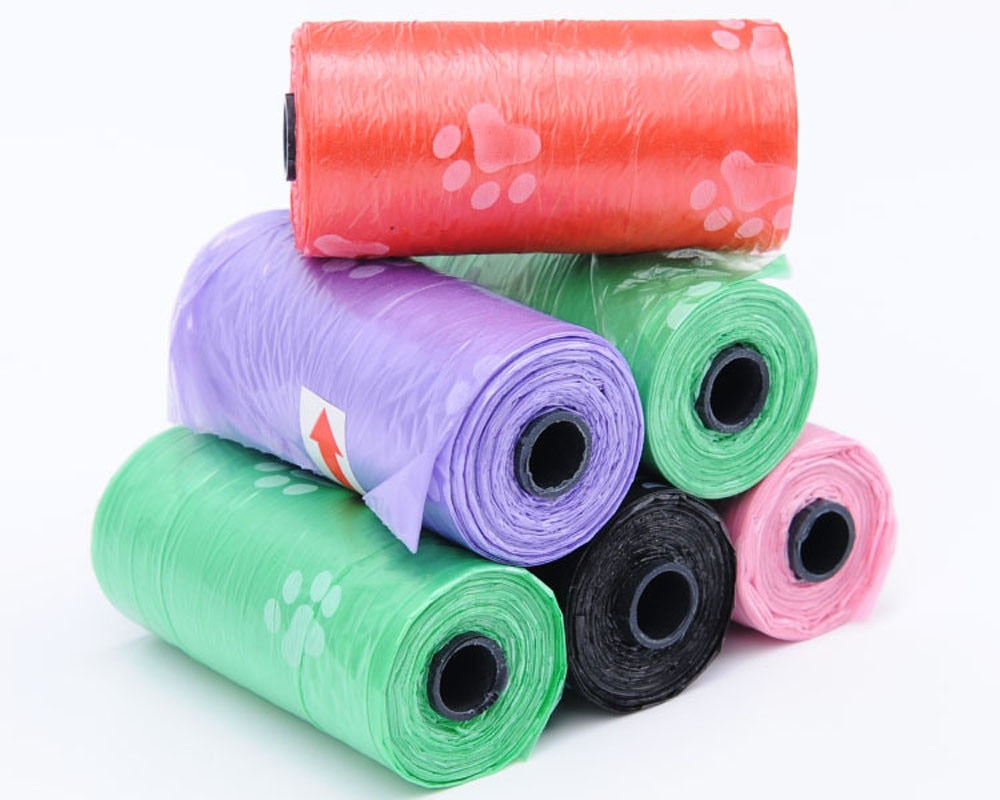 10 Roll Degradable Pet Waste Bags Dog/Cat