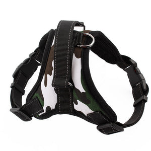 Nylon Heavy Duty Dog Pet Harness Collar Padded Large Medium Small Dog Harnesses vest