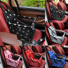 Load image into Gallery viewer, Waterproof Dog/Cat Carrier Car Seat Basket Travel Mesh Hanging Bags