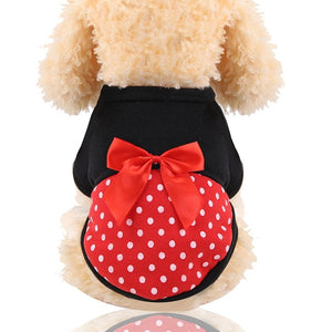Funny Cartoon Dog Clothes Coat Small Dogs Cotton Pet Clothing XS-XXL