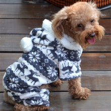 Load image into Gallery viewer, Dog Warm Clothes Jumpsuit Hoodie