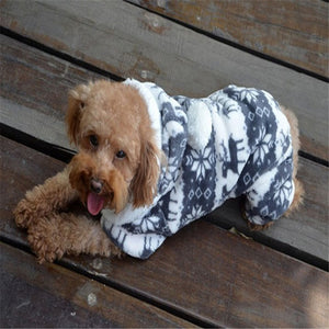 Dog Warm Clothes Jumpsuit Hoodie