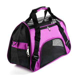 Pet Dog/Cat Breathable Travel Transport Carrying Bag - Sling Backpack Sizes Small-Medium-Large