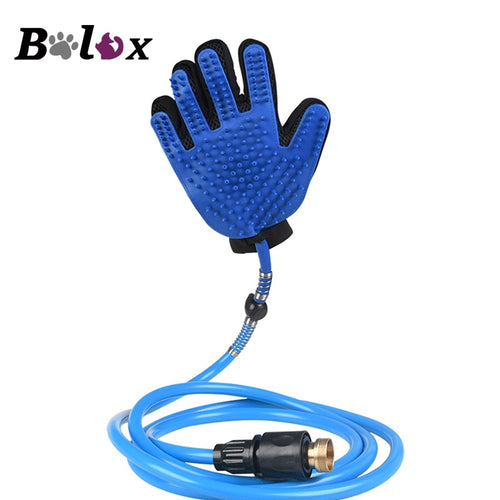 Pet Washing Shower Glove Rubber for Dog or Cat Dog