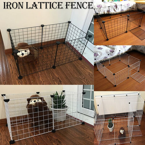 Portable DIY Pet Playpen Animal Crate