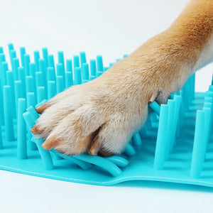 Pet Cats Dogs Foot Clean Cup - Cleaning Tool Soft Plastic Washing Paws Sizes S/M/L