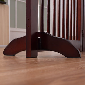 Support Feet for Wooden Pet Fence