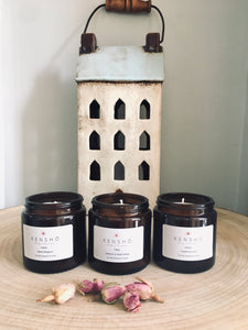 Candle Gift Set, 3 Candles,  Awaken, Happy & Inspire