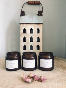 Candle Gift Set, 3 Candles, New Beginnings, Serenity & Energise