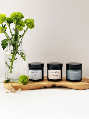 Wellness Candle Gift Set Breathe, Rose Garden & Dream