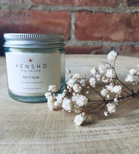 Big Calm Soy Wax Candle