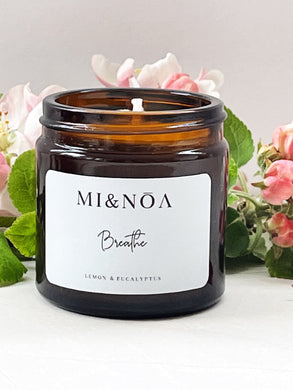 Breathe Soy Wax Essential Oil Candle