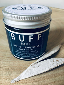 BUFF Nuit Sea Salt Body Scrub 60 ml
