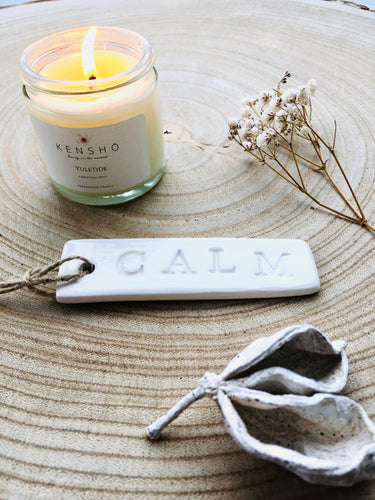 Calm Ceramic Tag