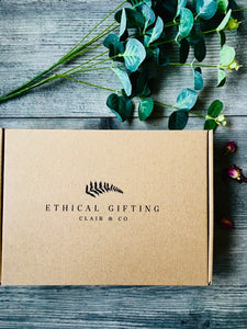 Recycled Ethical Wellness Gift Box