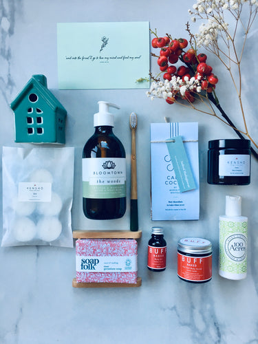 Luxury Forest & Red Berry Wellness Gift Box
