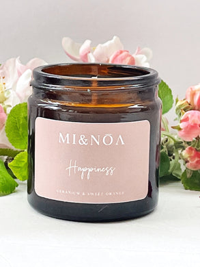 Happiness Soy Wax Essential Oil Candle