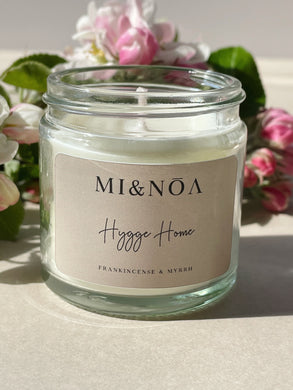 Hygge Home Soy Wax Candle Gift