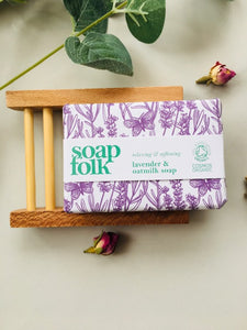 Sustainable Platane Soap dish gift