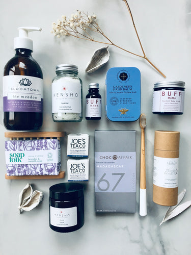 Luxury Lavender Fields Wellness Gift Box