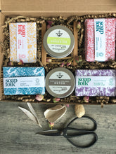 Load image into Gallery viewer, Soap and Scrub, Eco friendly, wellness Gift Box