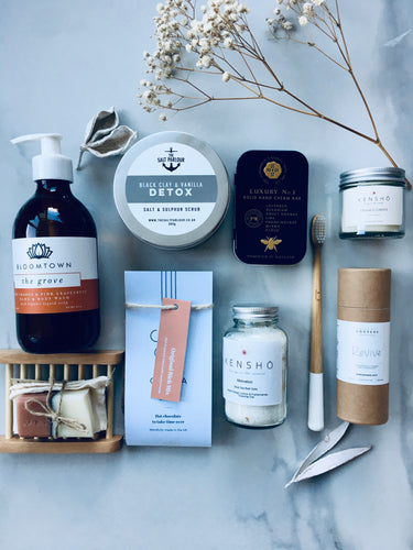 Luxury Orange Grove Wellness Gift Box